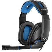 Наушники с микрофоном Sennheiser GSP 300 черный/синий (507079)