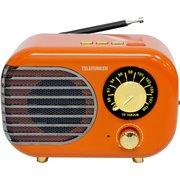 Радиоприемник Telefunken TF-1682UB оранжевый/золотистый