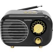 Радиоприемник Telefunken TF-1682UB черный/золотистый