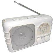 Радиоприемник Сигнал Luxele РП-111 белый