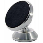 Автомобильный держатель Wiiix HT-43Tmg-S магнитный серебристый/черный для смартфонов