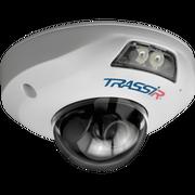 Видеокамера IP Trassir TR-D4121IR1 2.8-2.8мм белый