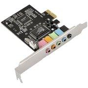 Звуковая карта ASIA PCIE 8738 6C (C-Media CMI8738 (LX/SX) 5.1 bulk