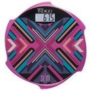Весы напольные Scarlett IS-BS35E601 пурпурный