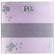 Весы напольные Scarlett SC-BS33E060 фиолетовый/рисунок
