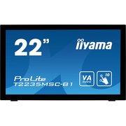 """Монитор Iiyama 21.5"""" ProLite T2235MSC-B1 черный"""