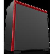 Корпус NZXT H710 CA-H710B-BR черный/красный