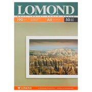 Фотобумага Lomond 0102015 A4/190г/м2/50л./белый матовое для струйной печати