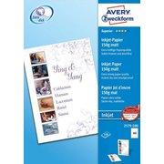 Фотобумага Avery Zweckform 2579-100 A4/150г/м2/150л./белый матовое для струйной печати