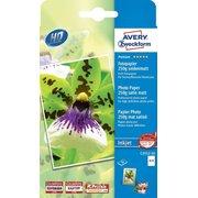 Фотобумага Avery Zweckform C2552-50 10x15/250г/м2/50л./белый сатин для струйной печати