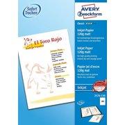 Фотобумага Avery Zweckform 2576-150 A4/120г/м2/150л./белый матовое для струйной печати