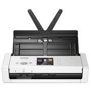 Сканер Brother ADS-1700W (ADS1700WTC1) серый/черный