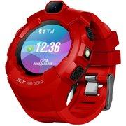Наручный смарт-браслет JET Kid Gear красный+черный