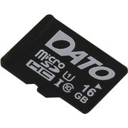 Карта памяти Dato microSDHC 16Gb Class10 DTTF016GUIC10 w/o adapter