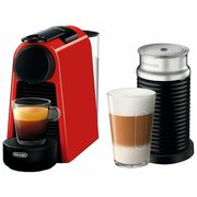 Кофемашина Delonghi Nespresso Essenza mini Bundle EN85.RAE красный