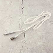 Дата-кабель REMAX Aurora 2 в 1 (micro USB + iPhone Lightning) 1m, белый
