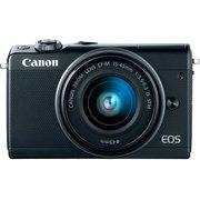 "Фотоаппарат Canon EOS M100 черный 24.2Mpix 3"" 1080p WiFi 15-45 IS STM LP-E12"