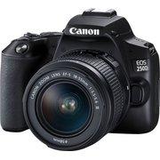 "Зеркальный фотоаппарат Canon EOS 250D черный 24.1Mpix EF-S 18-55mm f/1:4-5.6 IS STM 3"" 4K Full HD SDXC Li-ion"