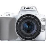 "Зеркальный фотоаппарат Canon EOS 250D серебристый 24.1Mpix EF-S 18-55mm f/1:4-5.6 IS STM 3"" 4K Full HD SDXC Li-ion"