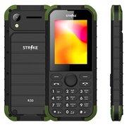 Мобильный телефон Strike R30 Black/Green