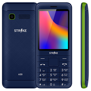 Мобильный телефон Strike A30 Blue/Green