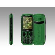 Мобильный телефон BQ BQM-2428 Tank зеленый