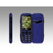 Мобильный телефон BQ BQM-2428 Tank синий