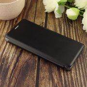 Чехол-книга для Samsung A71 (2020)/отдел под пластик.карту,силикон/ черный