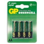 Батарейка GP R6/4SH Greencell