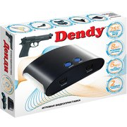 Игровая консоль Dendy черный +контроллер в комплекте 255 игр