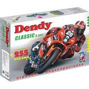 Игровая консоль Dendy Classic 8bit черный в комплекте 255 игр