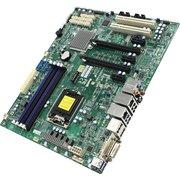 Материнская плата Supermicro X11SAE MBD-X11SAE-O (RTL) LGA1151 (C236) 2xPCI-E SVGA 2xGbLAN SATA RAID ATX 4DDR4