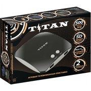 Игровая приставка SEGA Magistr Titan 3 черный (500 встроенных игр) (SD до 32 ГБ) [ConSkDn66]