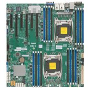 Материнская плата Supermicro MBD-X10DRI-O E-ATX, DP S2011 R3, 16xDDR4, 10xSATA3 RAID 0,1,5,10; 6PCIe