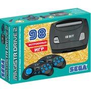 Игровая консоль Magistr Drive 2 Little черный в комплекте 98 игр