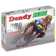 Игровая консоль Dendy Junior черный 300 игр
