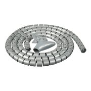 Кабельный органайзер Buro BHP CG155S Spiral Hose 15x1500mm Silver