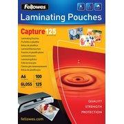 Пленка для ламинирования Fellowes 125мкм A6 (100шт) глянцевая 111x154мм CRC-53072 (FS-53072)
