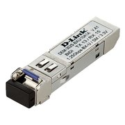 Модуль SFP D-Link DEM-302S-BXU 1port 1000Base-BX 3.3В WDM TX:1310nm RX:1550nm