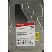 "HDD Toshiba N300 High Reliability (HDWN160UZSVA) 3.5"" 6.0TB 7200rpm Sata3 128MB 24/7, для NAS"