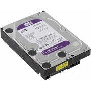 "HDD Western Digital WD Purple (WD40PURZ) 3.5"" 4.0TB IntelliPower Sata3 64MB 24/7, для систем наблюдения (до 64 камер), AllFrame уменьшает потери кадров"