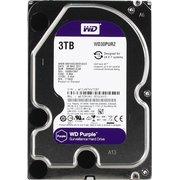 "HDD Western Digital WD Purple (WD30PURZ) 3.5"" 3.0TB IntelliPower Sata3 64MB 24/7, для систем наблюдения (до 64 камер), AllFrame уменьшает потери кадров"