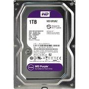 "HDD Western Digital WD Purple (WD10PURZ) 3.5"" 1.0TB IntelliPower Sata3 64MB 24/7, для систем наблюдения (до 64 камер), AllFrame уменьшает потери кадров"