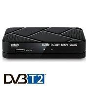 Ресивер DVB-T2 BBK SMP023HDT2 черный