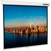 Экран Lumien 207x207см Master Picture LMP-100105 1:1 настенно-потолочный рулонный белый