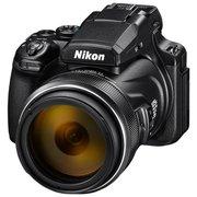 "Фотоаппарат Nikon CoolPix P1000 черный 16Mpix Zoom125x 3.2"" 4K SDXC"