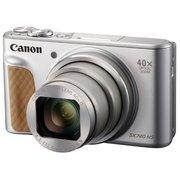 """Фотоаппарат Canon PowerShot SX740HS серебристый 21.1Mpix Zoom40x 3"""" 4K SDXC/SD/SDHC"""