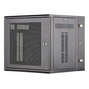 Шкаф коммутационный Panduit (PZWMC12P) черный настенный 12U 635x635мм пер.дв.перфор. металл направл.под винты 115кг