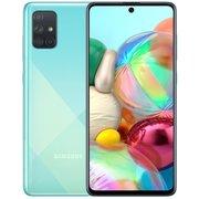 Смартфон Samsung Galaxy A71 2020 128Gb Blue (SM-A715FZBMSER)