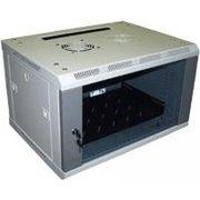 Шкаф коммутационный Lanmaster Pro TWT-CBW2-6U-6X6 серый 6U 600x600мм пер.дв.стекл 60кг